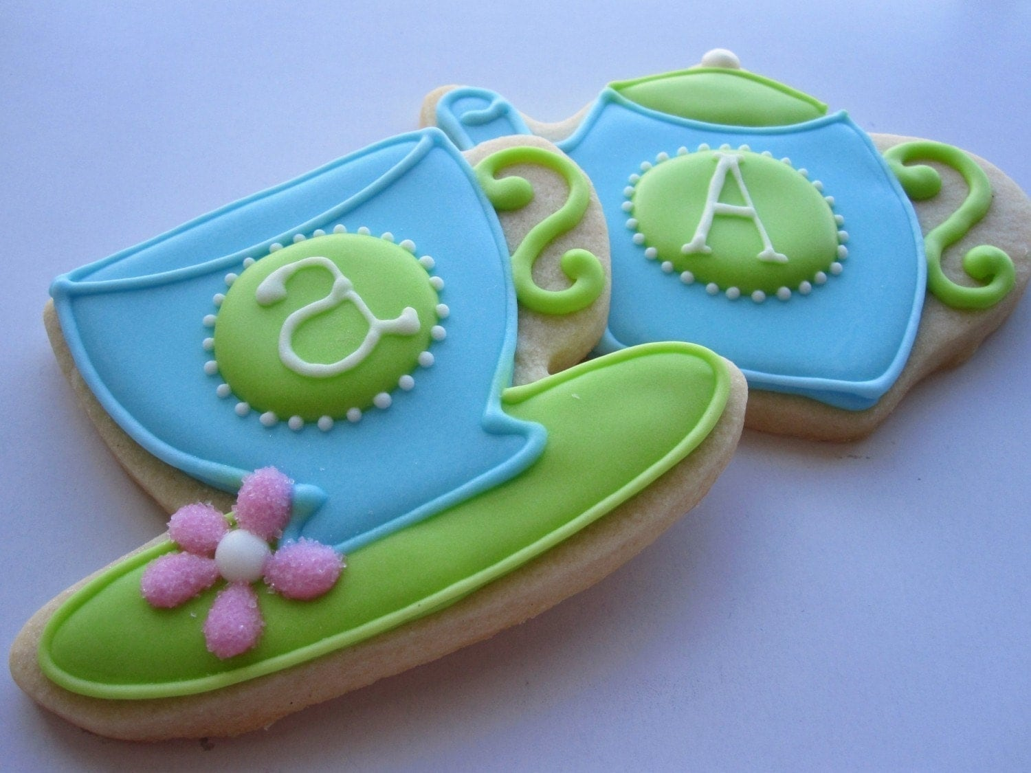 AFTERNOON TEA Teacup and Teapot Sugar Cookie Party Favors