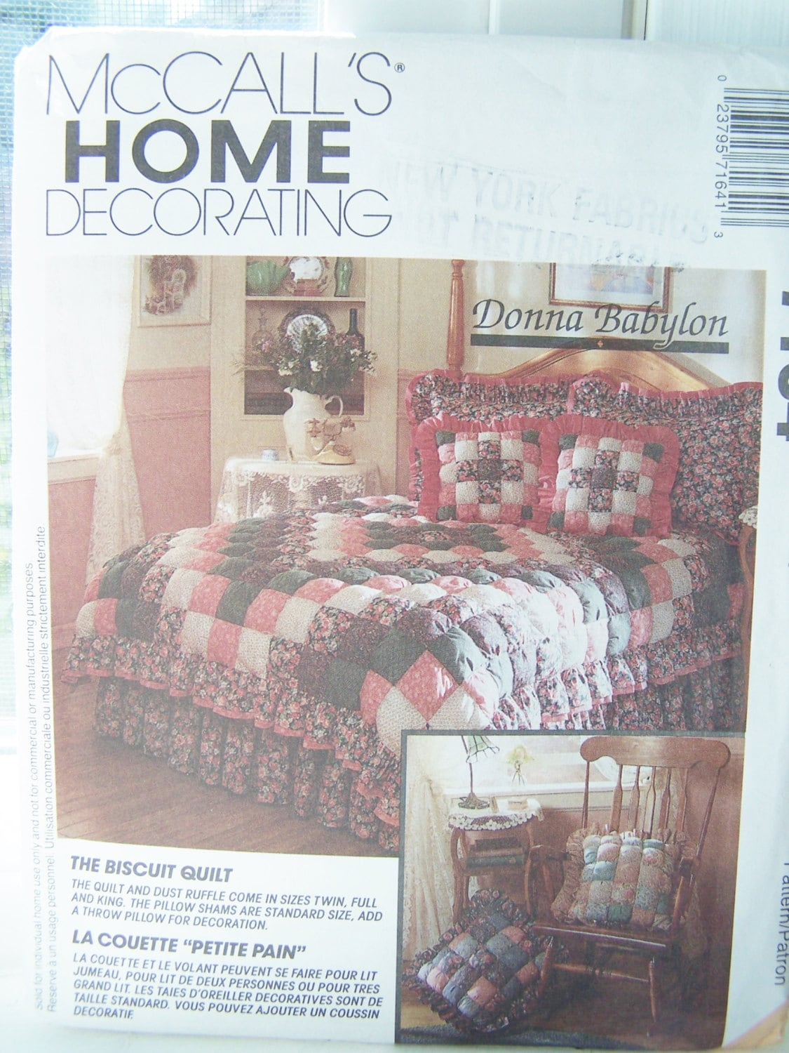 90 39 S Mccall 39 S 7164 Sewing Pattern Home Decorating By