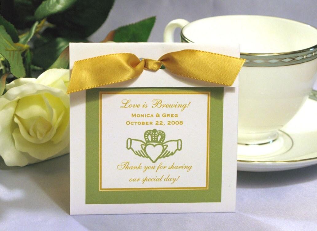 Claddagh Irish Wedding Tea Or Coffee Favors We By Shadow090109