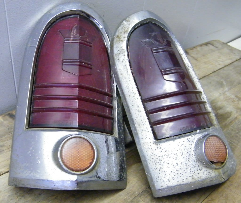 Vintage Ford Car Or Truck Tail Lights Salvage By