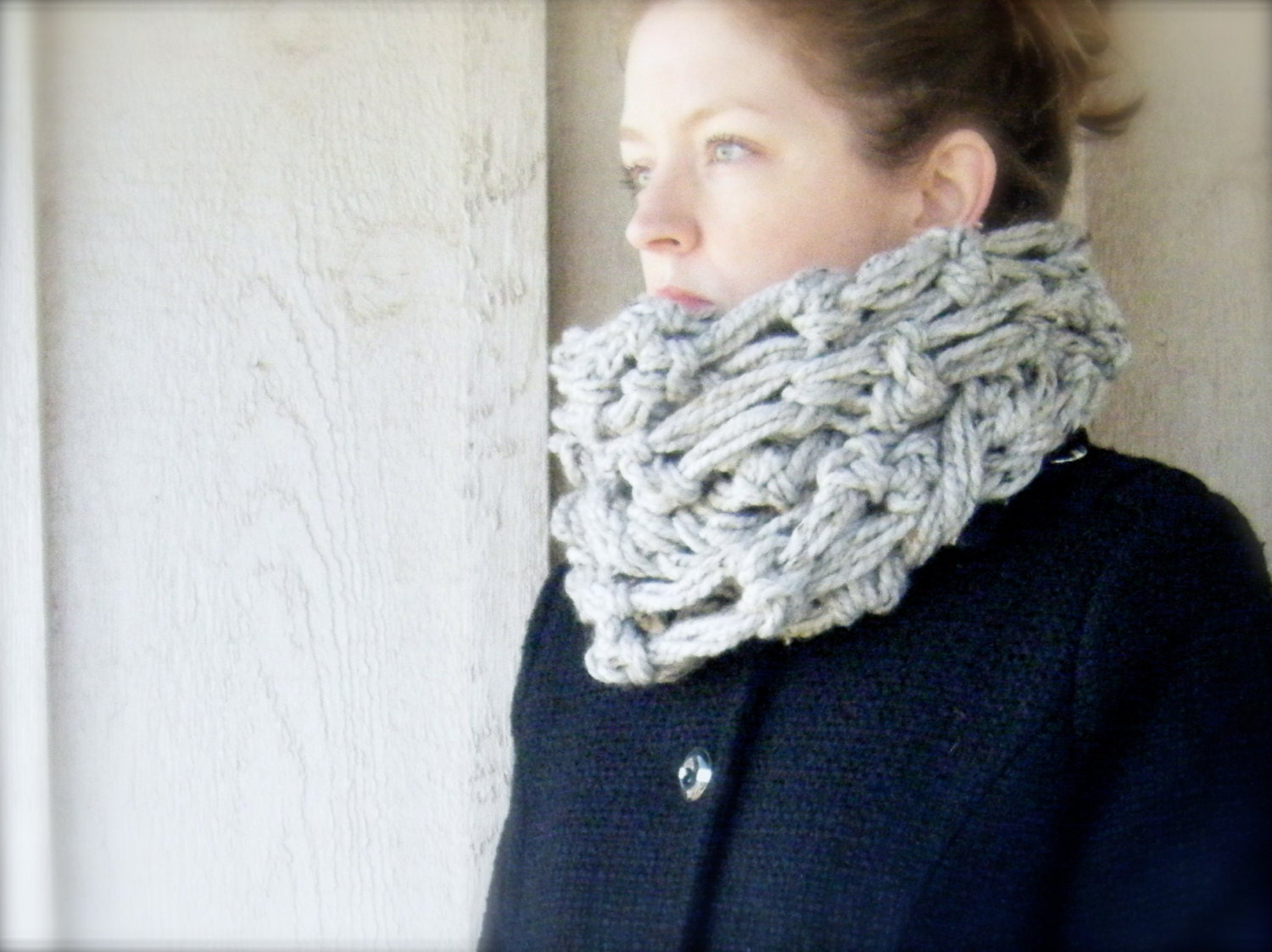 DIY PATTERN: The Oslo Cowl, crochet pattern PDF & ViDeO ...