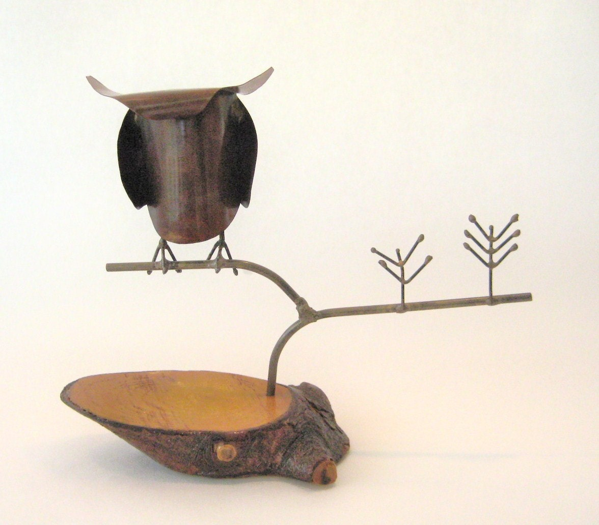 C. Jere Metal Owl Sculpture - thankhugh