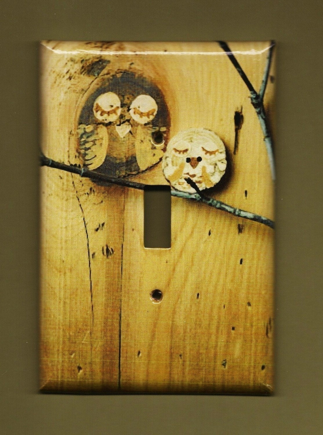 Owl Light Switch Plate