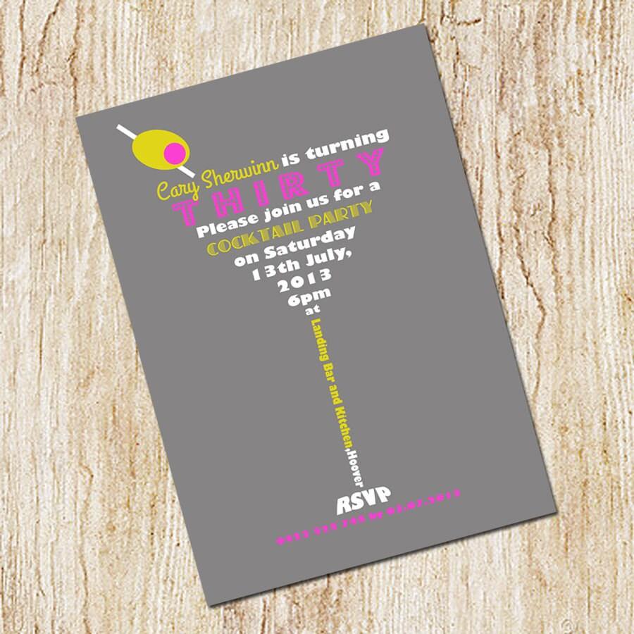 40th birthday wine invitation template – 30th Birthday Invitations Templates Free Printable