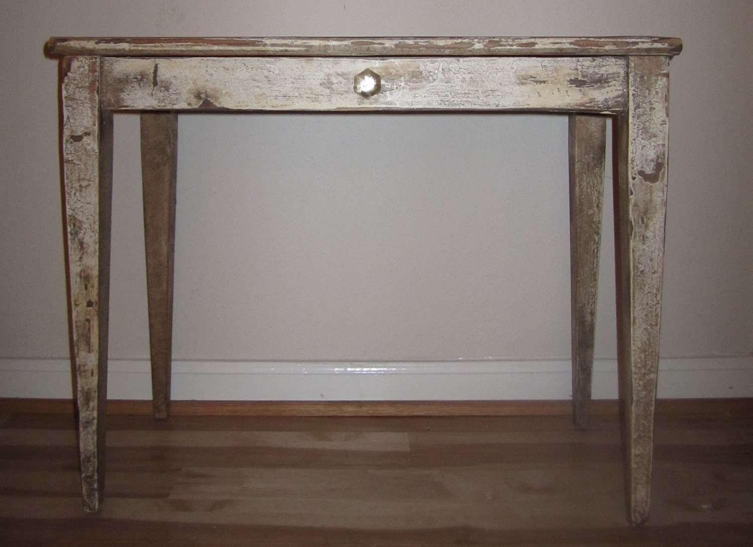 Distressed Antique Piano Bench Table By Funkybear On Etsy