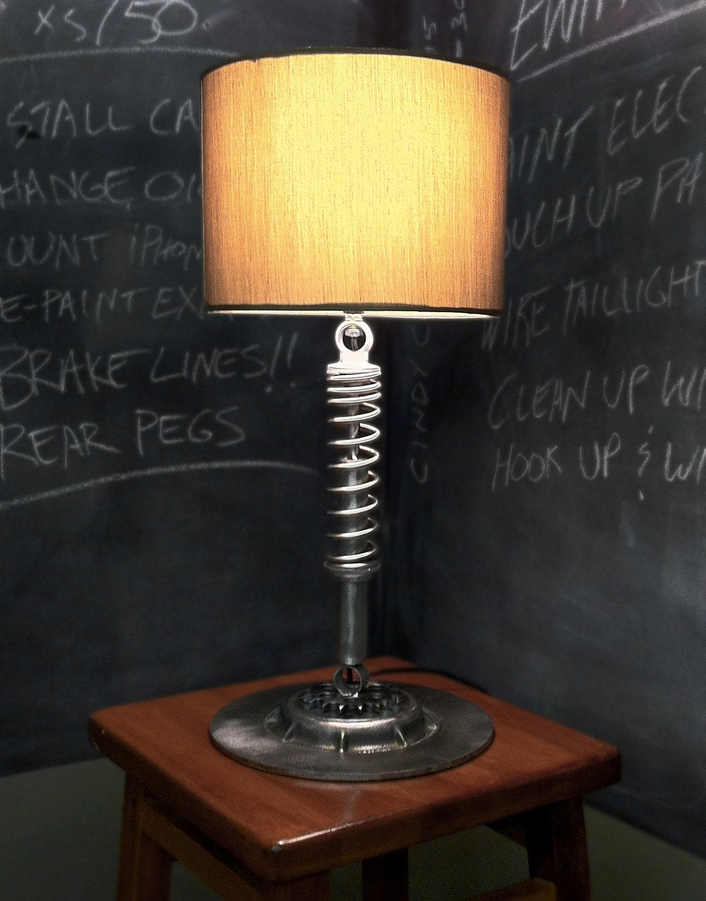Vintage Motorcycle Lamp