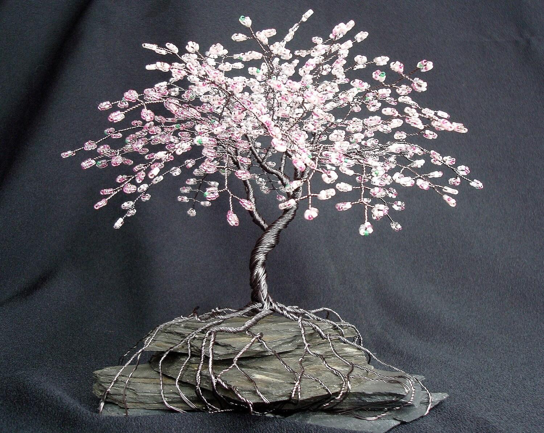 Make Wire Tree Sculptures
