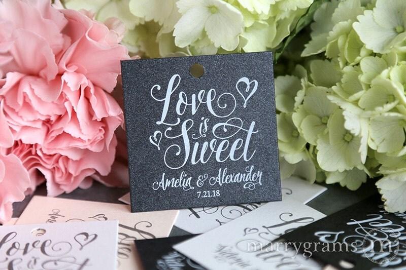 Favor tags wedding