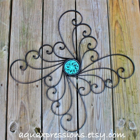 Distressed Metal Wall Decor : Unavailable listing on etsy
