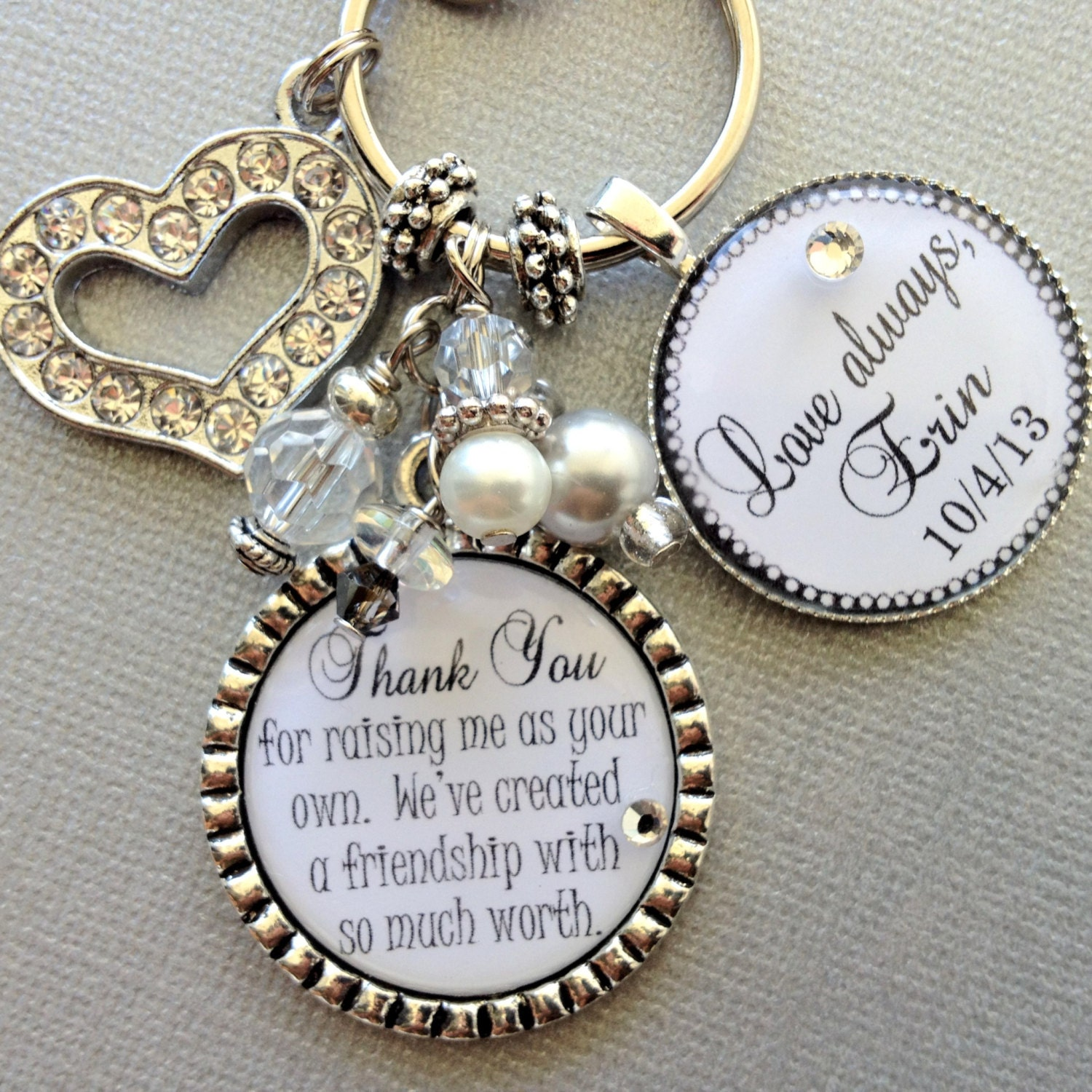 Wedding Gift For Dad And Stepmom : ... of the bride gift pers onalized wedding quote thank you gift step mom