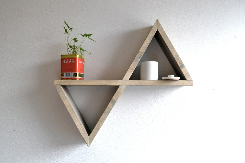 Geometric Shelf  Etsy finds