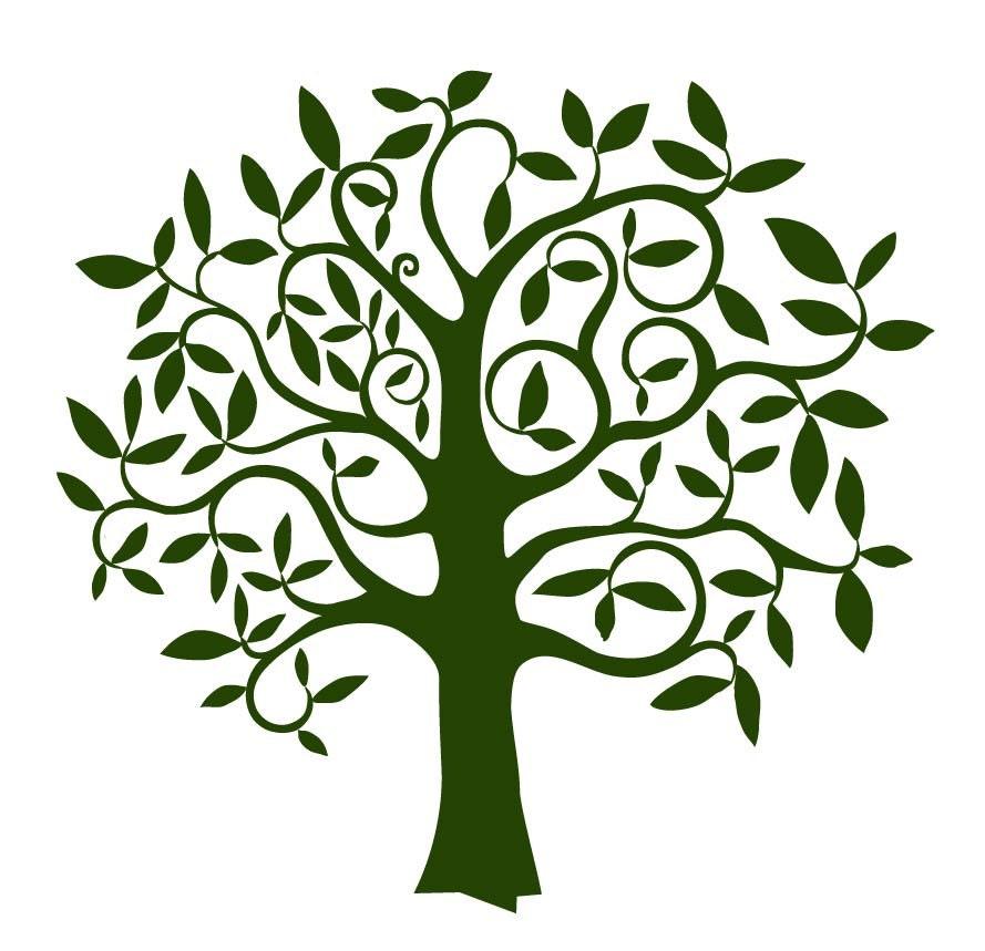 Своими руками трафарет дерево