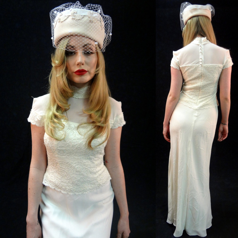 Lace wedding dresses vintage pictures