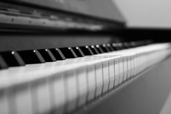 Items similar to piano photography black and white for Modern black and white photography