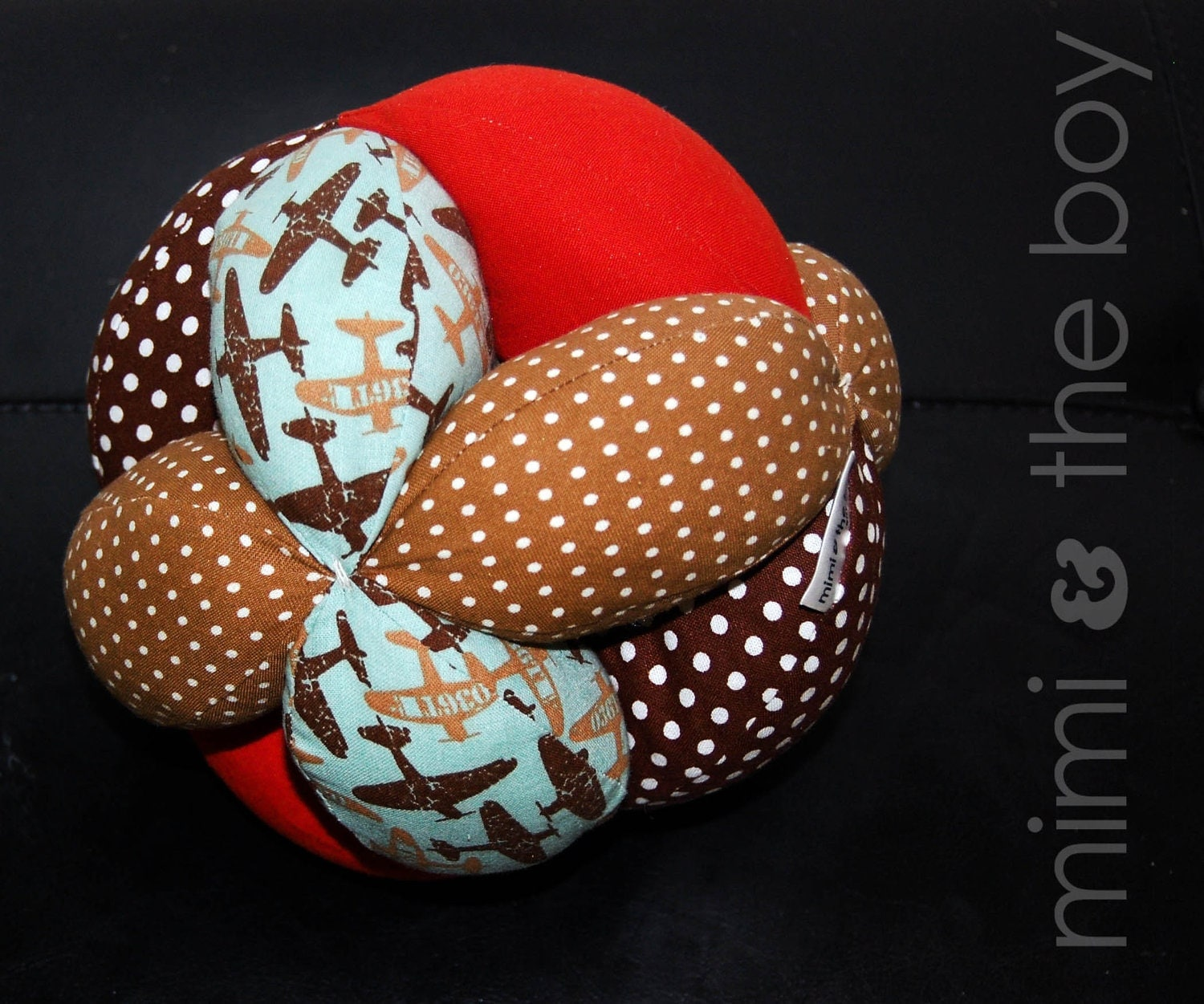 Cloth+Ball+Pattern+Free pattern from patchwork puzzle balls by jinny ...
