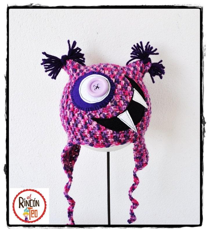 Crochet Hat  Big Mouth FV