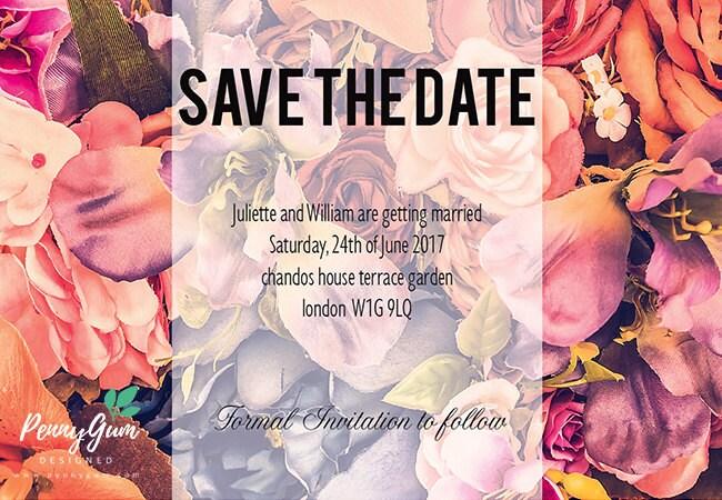 DIY Printable Wedding Stationery Set Editable PDF  Fabulous Fiona