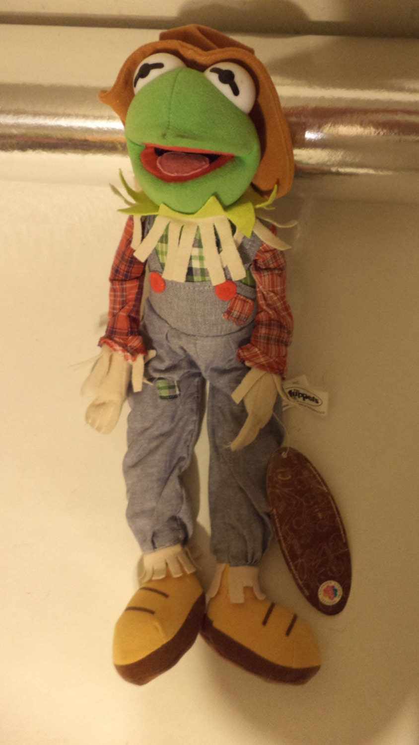how to make kermit the frog doll