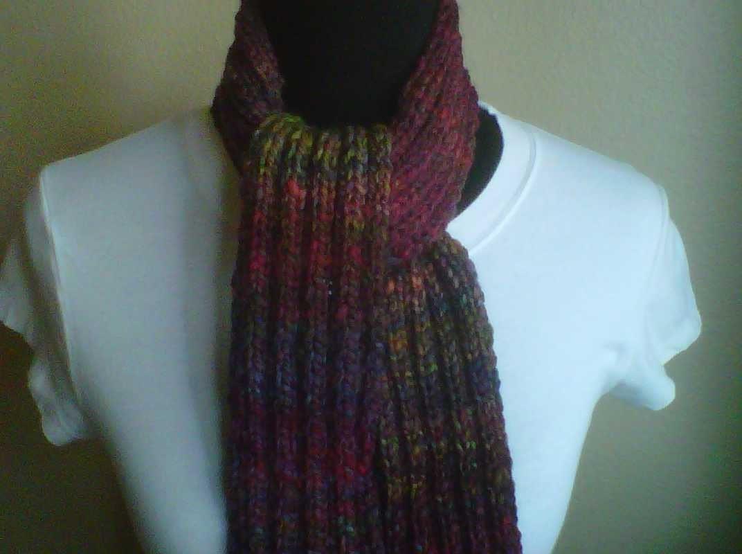 The Dream Seeker's Fortune - a handknit scarf
