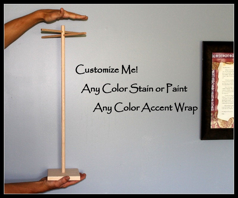 Long Amp Tall Jewelry Display Stand For Super Long Necklaces