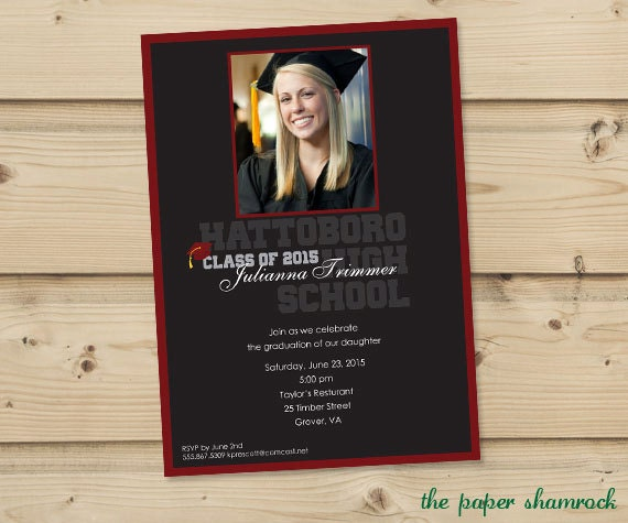 Cvs Graduation Invitations is amazing invitation design