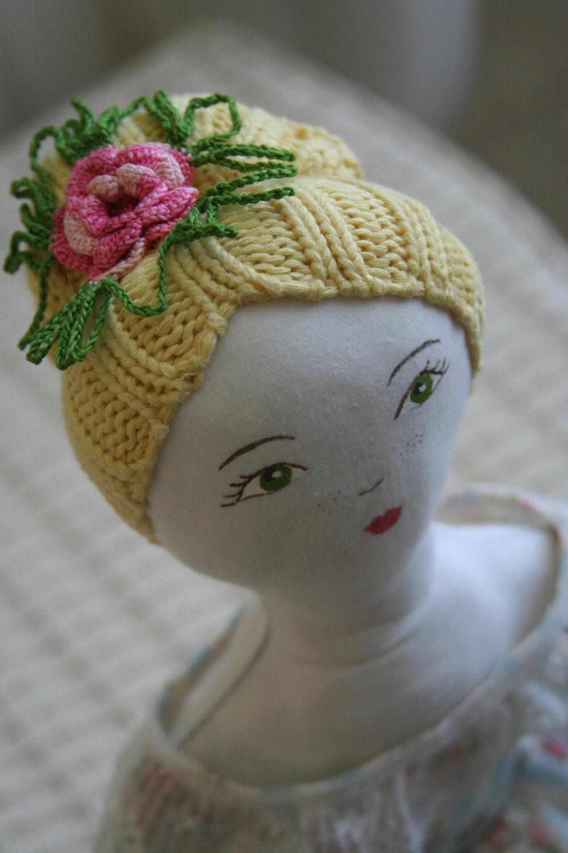 Emma (dear Emma), Jane Austen inspired,handmade doll