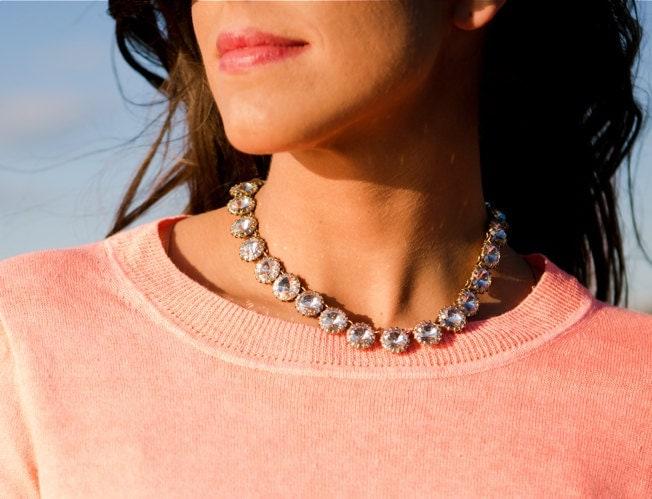 SALE 2013 new necklace - Crystal necklace/ 3 color statement necklace / bubble necklace/pretty/bib necklace/pendant/Beadwork/beautiful