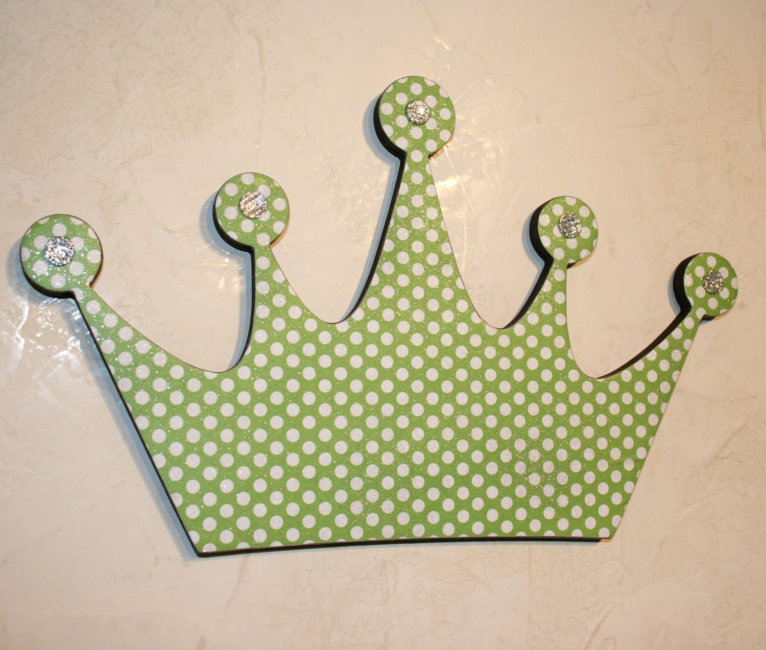 Baby Crown Wall Decor : Princess crown wall decor green by finchnwillowboutique