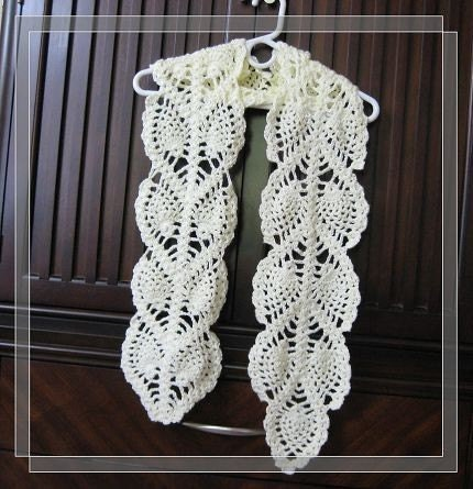 Pineapple Edging Pattern | Crochet Patterns