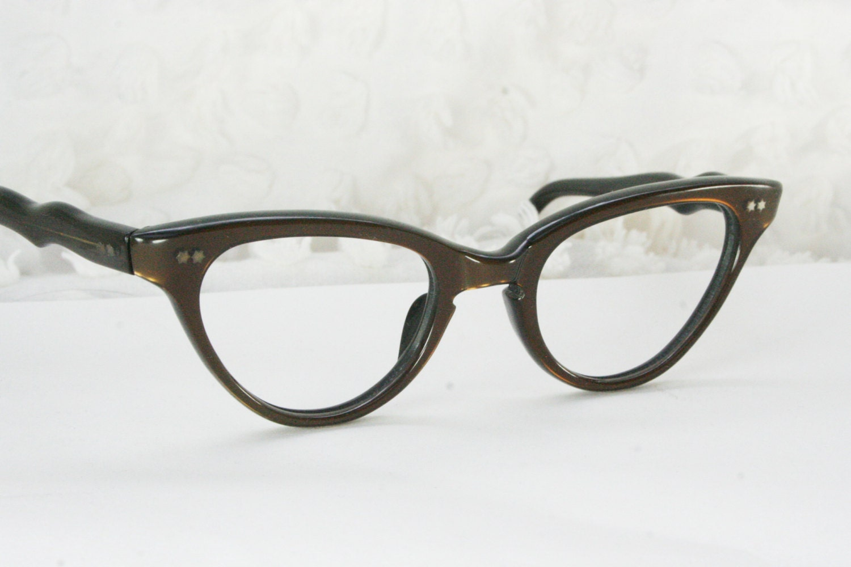 vintage 60s cat eye glasses 1960 s womens eyeglasses by