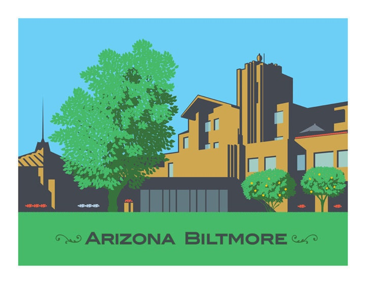Limited edition Arizona Biltmore photo print