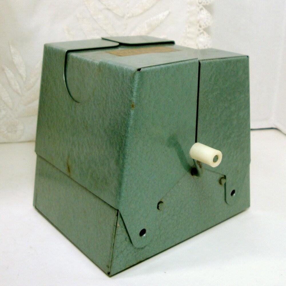 vintage mechanical card shuffler