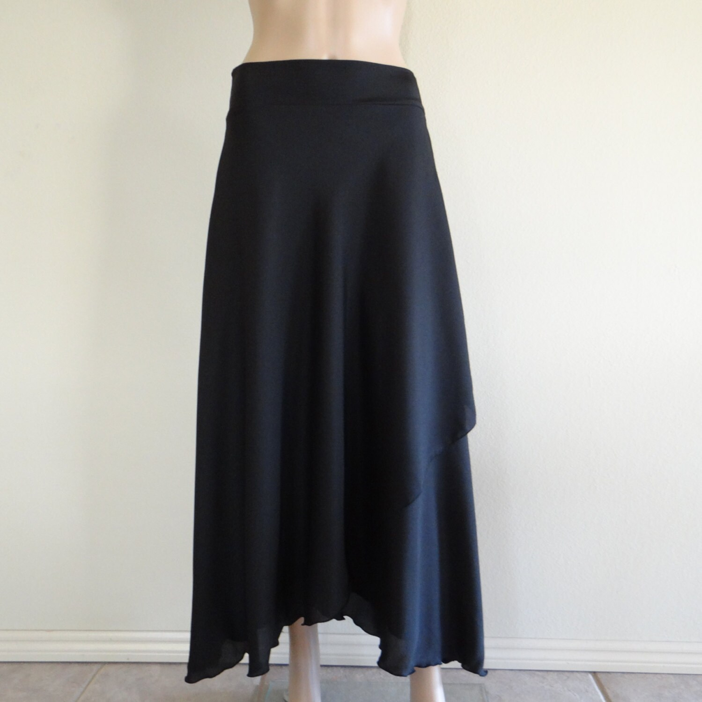 black maxi skirt skirt evening skirt by lynamobley2012