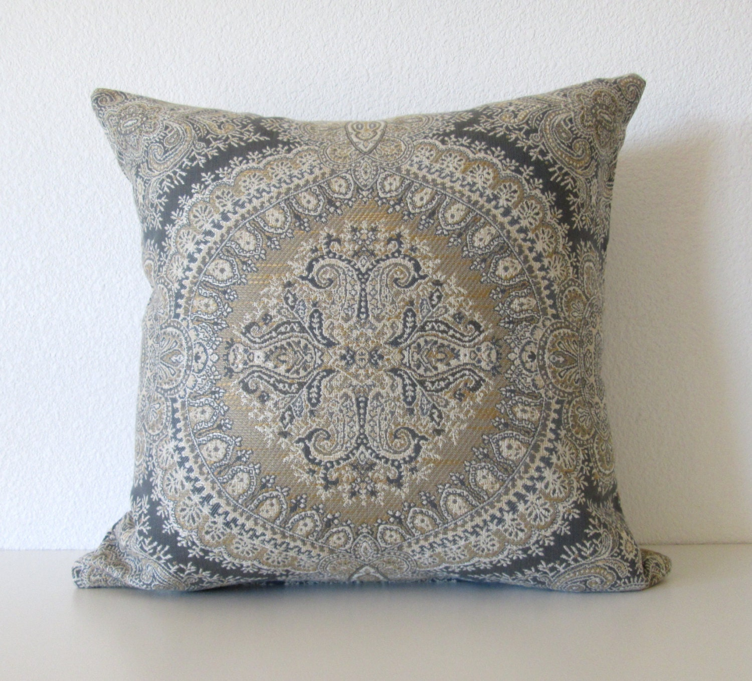 Decorative Pillows With Grey : Decorative pillow cover 18x18 Dark Gray by chicdecorpillows