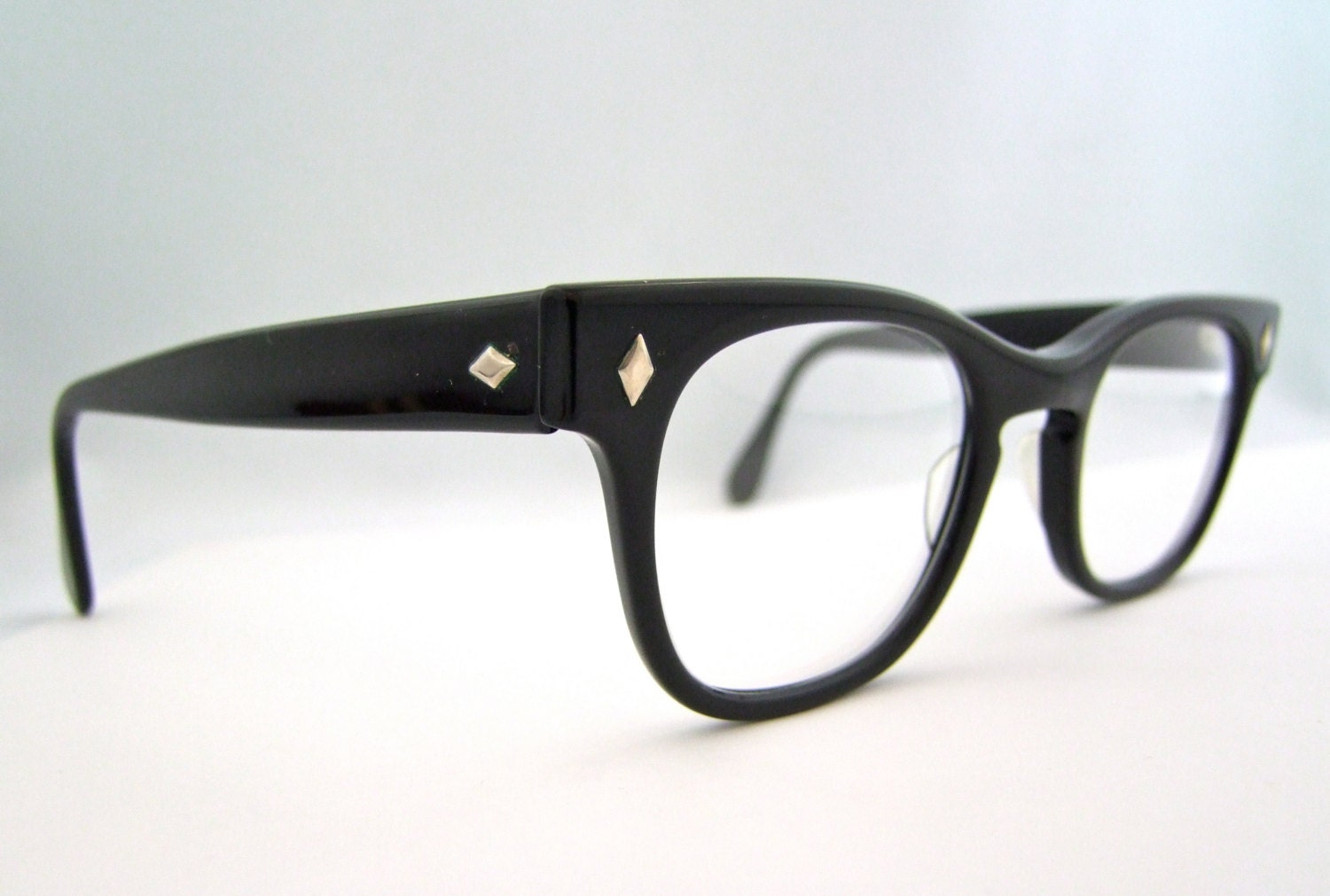 Eyeglass Frames New Styles : MENS Vintage Wayfarer style Eyeglasses With NEW by ...