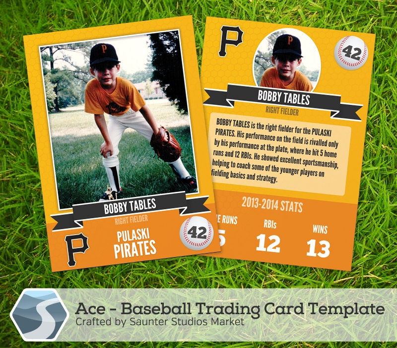 Accomplished image with printable baseball card template