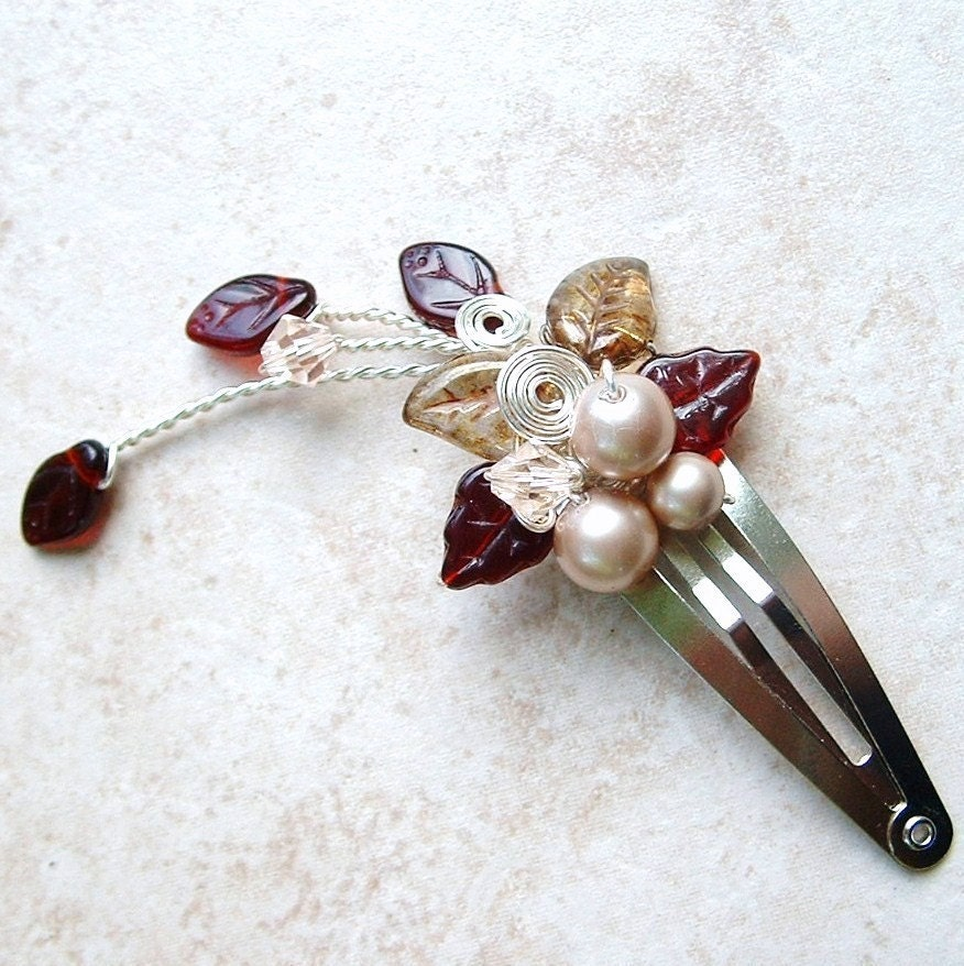 Queen Mab's Wedding Faery Hair Clip - Thyme2dream