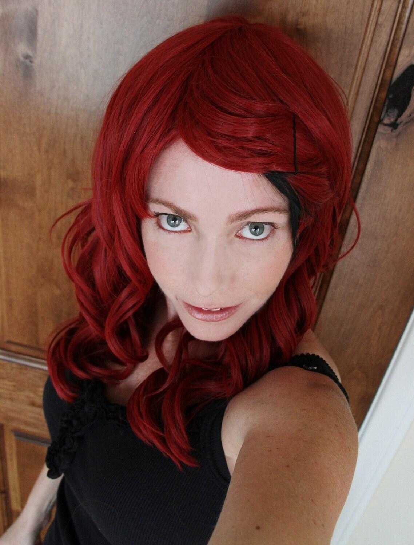 Red Auburn Hair Sale //auburn red wig with
