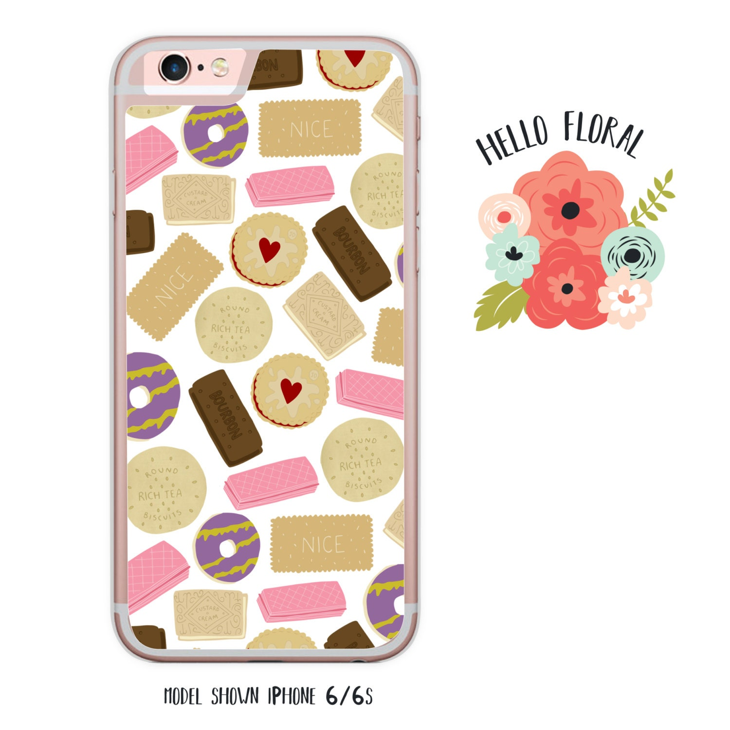 Classic Biscuits iPhone Samsung Galaxy iPod Touch hard case