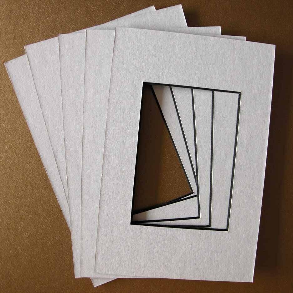 3 Each 11x14 White Mat W Black Core W 8x10 Or By