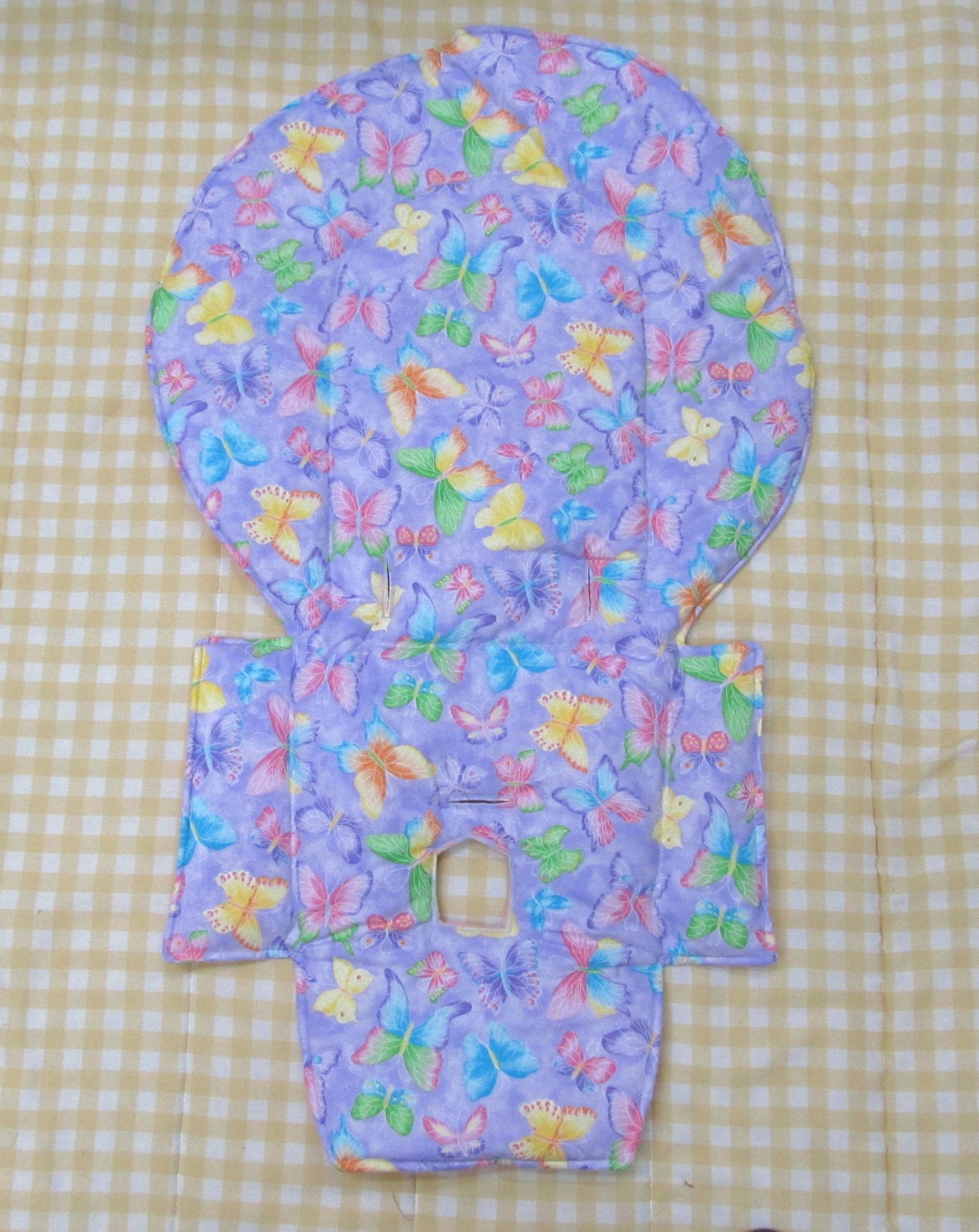Evenflo Replacement High Chair Pad Coverpurple By Sewingsilly