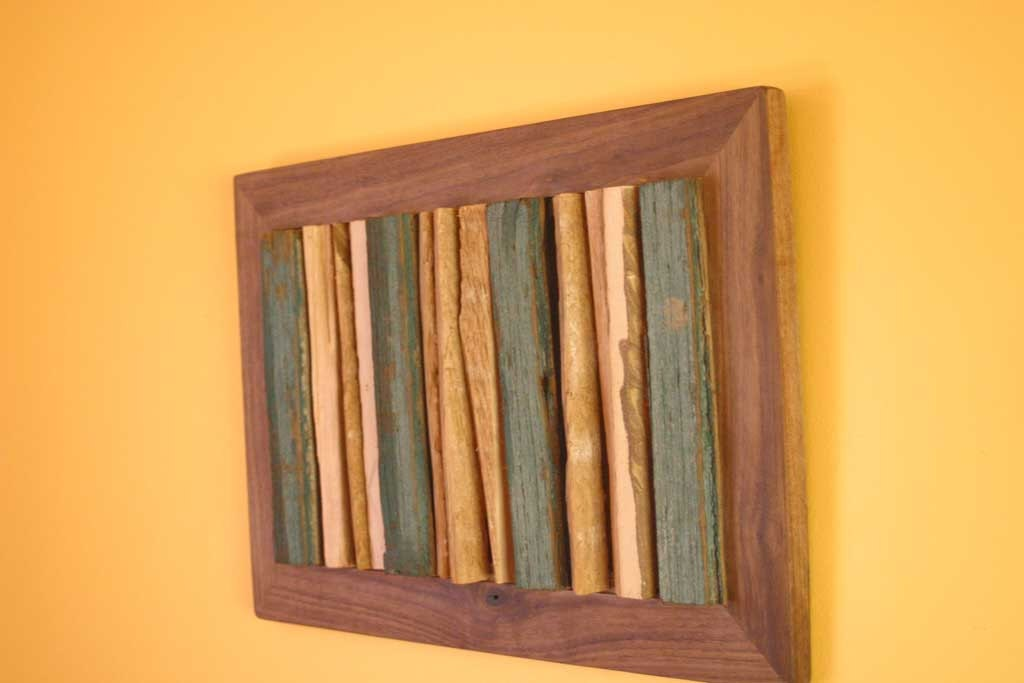 reclaimed wood wall art on Etsy, a global handmade and vintage ...