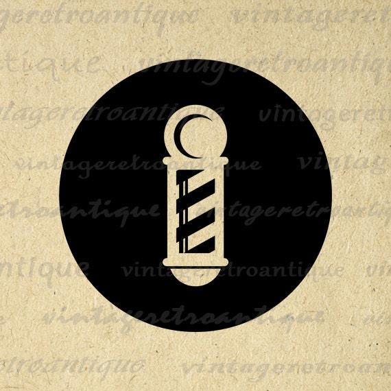 barber pole graphic image printable barber shop icon. Black Bedroom Furniture Sets. Home Design Ideas