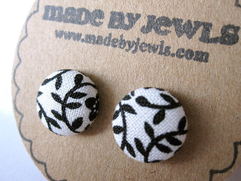 Black Vine Earrings
