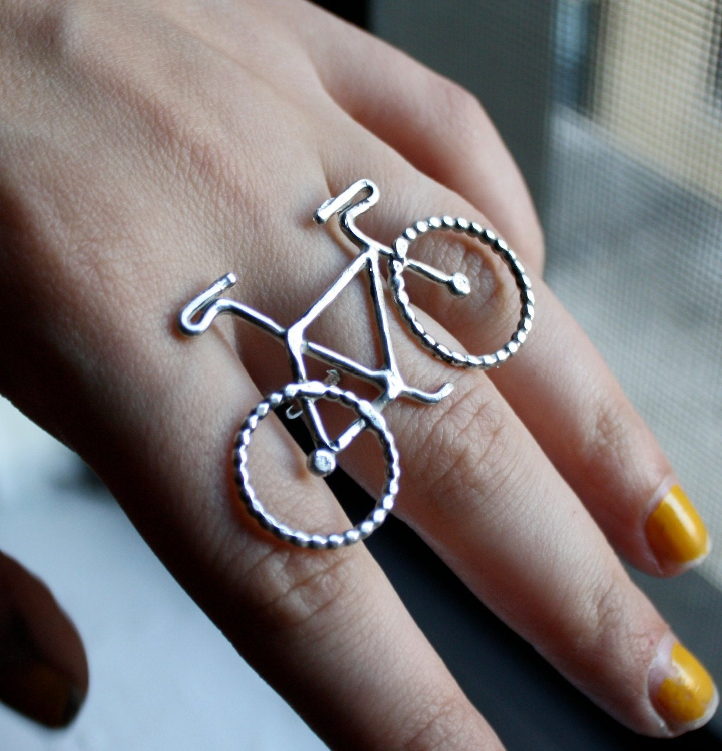 Le Petit Bike Ring by Rachel Pfeffer - RachelPfefferDesigns