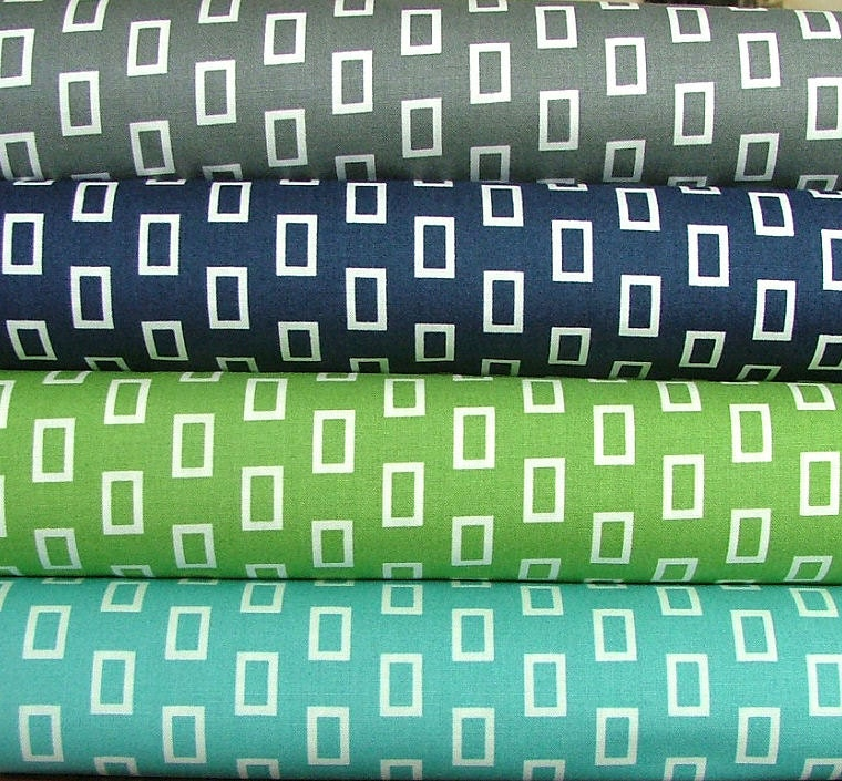 Fat Quarter Bundle of Geometric Frames from the Simply Style Collection by V and Co for Moda