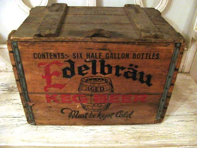 Wooden Beer Crates Diy Wooden Beer Crate