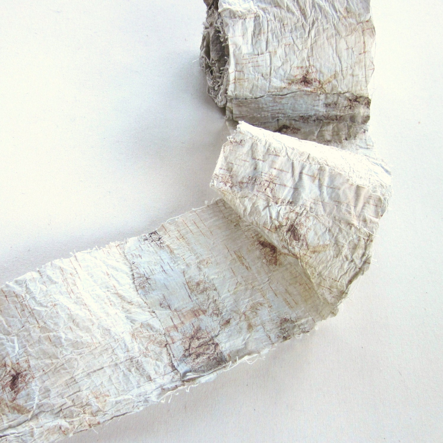 Birch Bark Ribbon Garland for Decorating Weddings and Crafts - GardenBarn