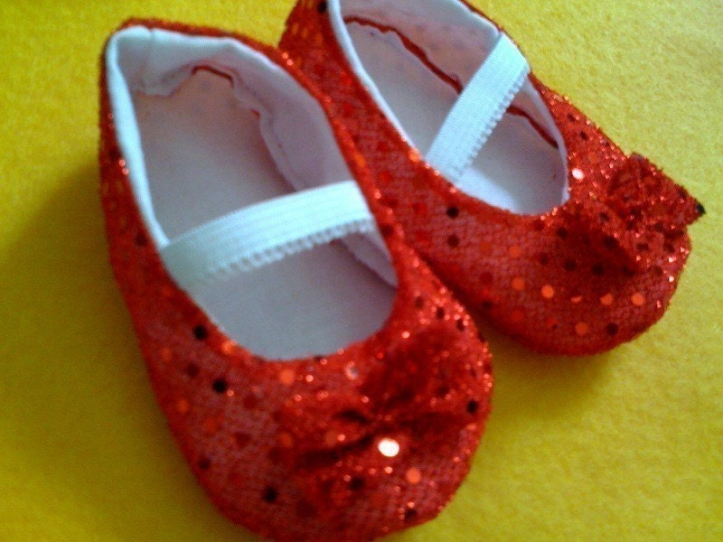 Ruby Slippers Toddler Sizes PERFECT FOR HALLOWEEN