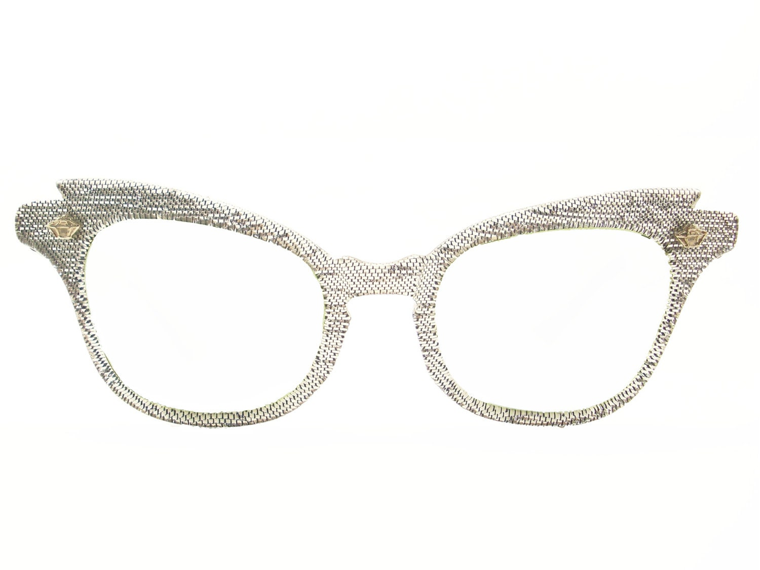 RESERVED Vintage 50s Cat Eye Glasses Frame Eyeglasses Sunglasses New
